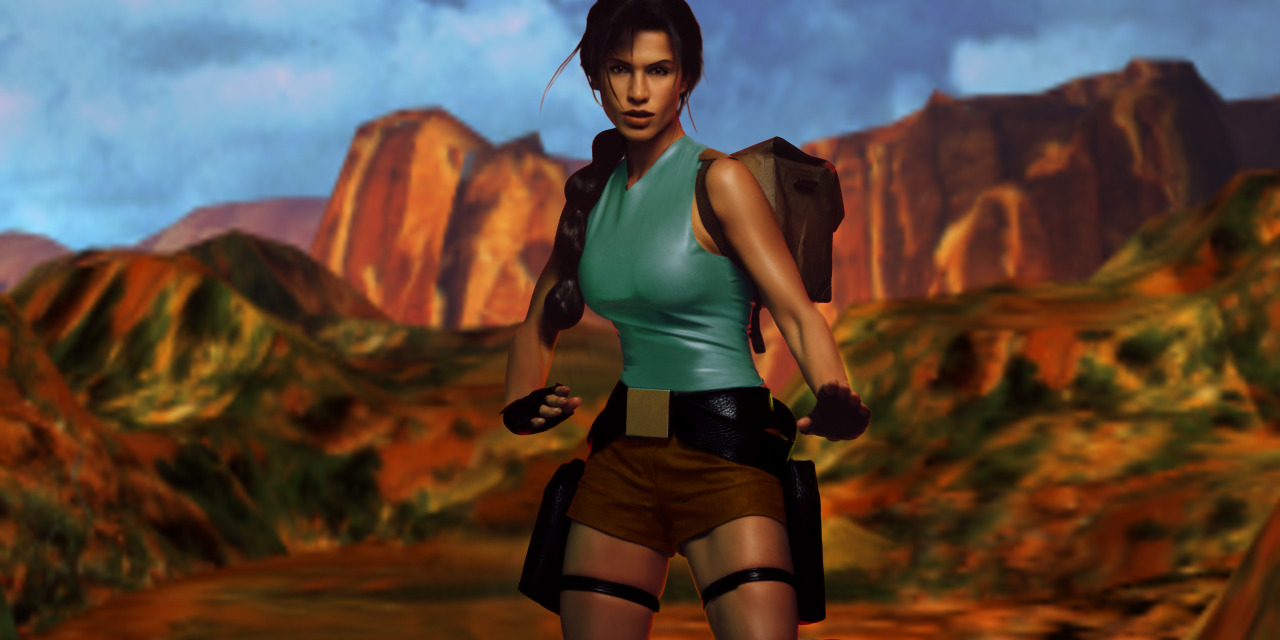Modelos de Lara Croft Screen3